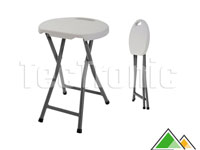 Tabouret de bar solide en plastique