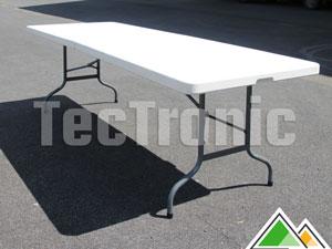 Pliable Table Pour Fete De Personnes Tonnelle Pliante 8 wZTOPXiku