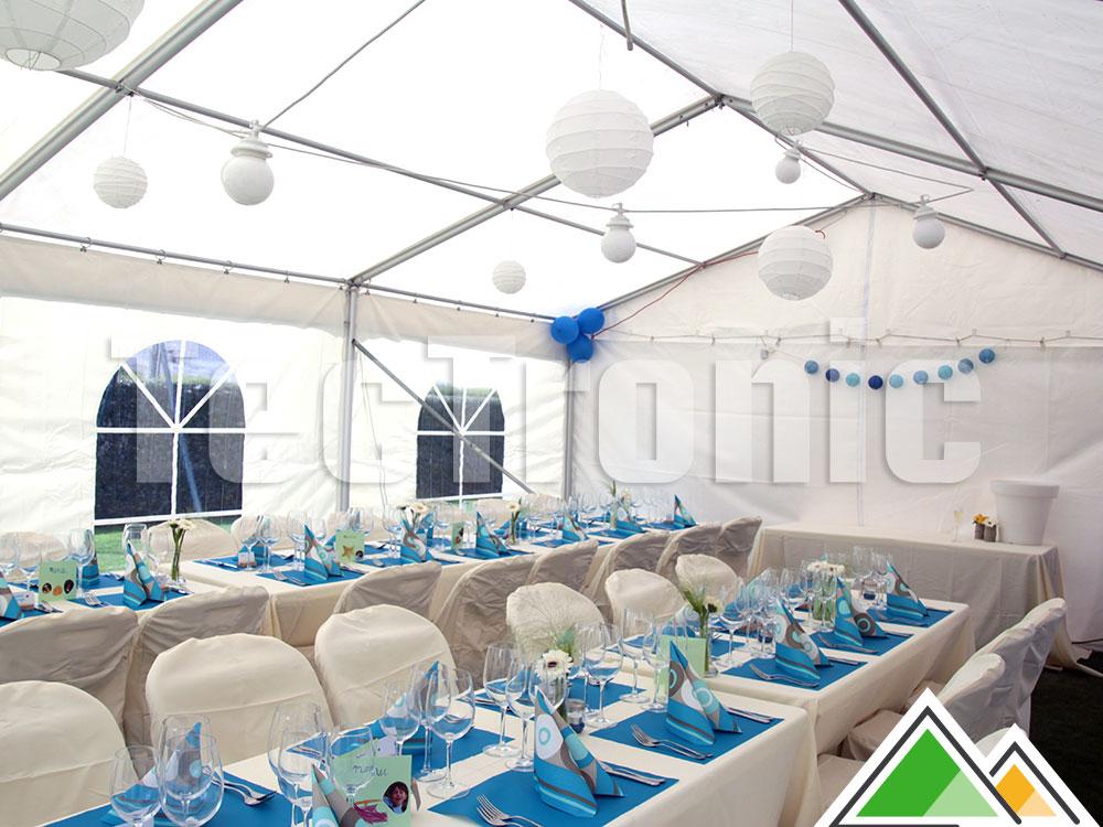 Magnifique Tente de réception compartimentable de 5 mètres de large @BX_56