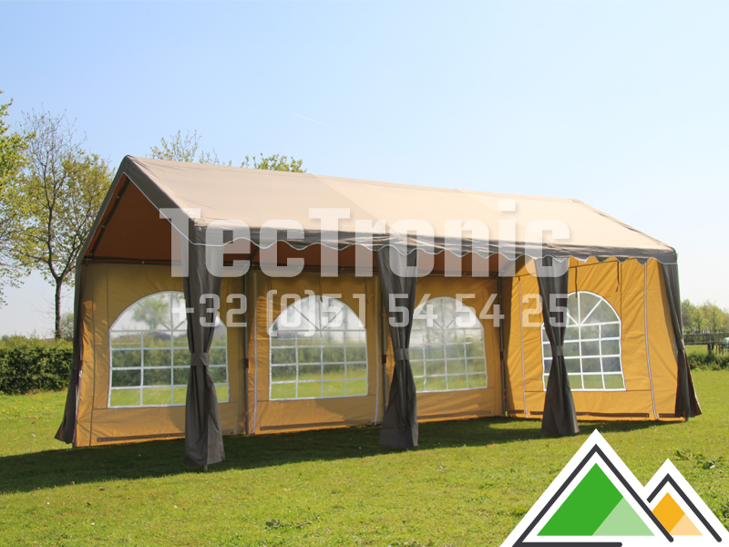 belle tente de r ception 3x6 en polyester. Black Bedroom Furniture Sets. Home Design Ideas