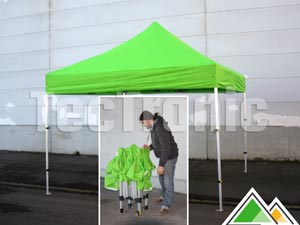 Tentes pliantes professionnelles Solid 40 compact polyester